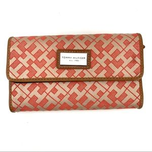 Tommy Hilfiger Checkbook Style Snap Wallet